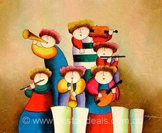 Music Music Kids Music _ Kids Oil Paintings. http://bestartdeals.com.au