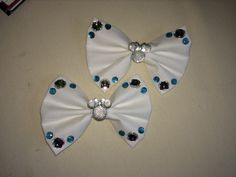 A personal favorite from my Etsy shop https://www.etsy.com/listing/233439043/diamond-edition-bow