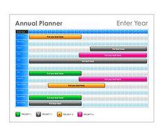 Jewel Tone Annual Planner