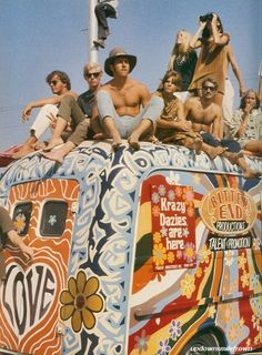 Woodstock, 1969. You can't say we did not know how to have fun! And yes, I was there!