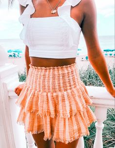 Cute Casual Outfits, Cute Summer Outfits, Pretty Outfits, Spring Outfits, Casual Summer, Summer Clothes, Teen Fashion Outfits, Outfits For Teens, School Outfits