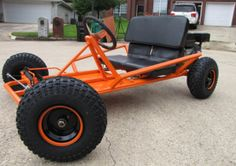 Build a Go-Cart of Your Own With One of These Free Plans: Free Go-Cart Plan from KartFab.com