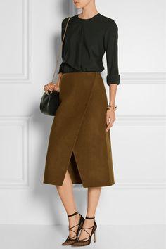 Jason Wu | Wool wrap skirt | NET-A-PORTER.COM