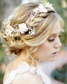 Braid + flowers