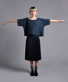 Hand dyed British wool knitwear by Bronwen Campbell-Golding