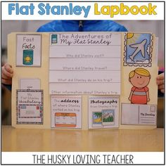Flat Stanley Lapbook