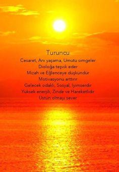 Renklerin psikolojisi: turuncu