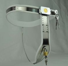 94.98$  Watch now - http://ali4f5.worldwells.pw/go.php?t=32651032317 - new II version of the female T arc Stainless Steel fetish wear female chastity belt many sizes bdsm fetish sex  toys for woman