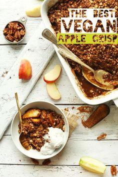 The Best Vegan Apple Crisp