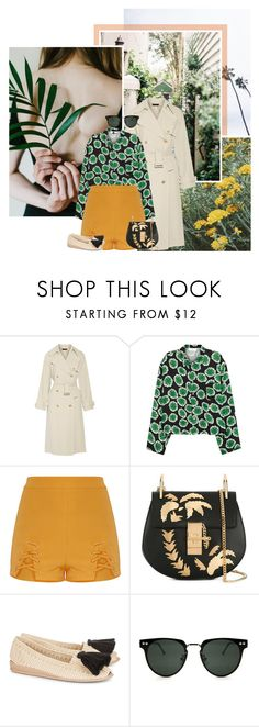 """""""Call My Name"""" by africagirls ❤ liked on Polyvore featuring The Row, Toga, Chloé, Casa de Vera and Spitfire"""