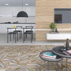 Wall tiles range Gades in size, is a white body tile with concretes like finish. Wood Effect Tiles, White Bodies, Photo Instagram, Belle Photo, Wall Tiles, Tile Floor, Photos, Patio, Outdoor Decor