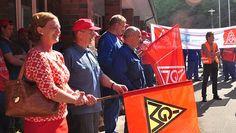 Engelmeier-Heite: Solidarität mit IG Metallern