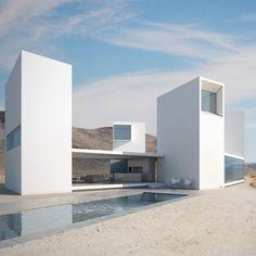 Desert houses.