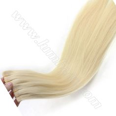 Brown tape hair extensions last 6 9 months and are reusablewe bleach blonde tape in hair extensions from chinese reliable factory lumhair pmusecretfo Image collections
