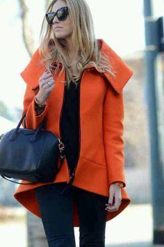 Gorgeous Orange Coat!