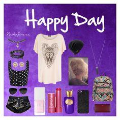 """Happy Day"" by nathajimenez on Polyvore featuring moda, Runwaydreamz, Karen Kane, Ray-Ban, Coal, Christian Dior, Fresh, Sospiro, BaubleBar y Paul Smith"