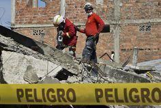 Nuevo temblor en Ecuador provoca alarma entre socorristas