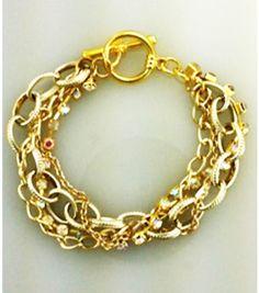 Chain Bracelet | Arm Party Bracelet | Gold Chain Bracelet from Joann.com