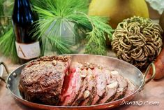 Prime Rib is the Best Christmas Dinner Idea Dinner Entrees, Dinner Recipes, Boneless Prime Rib Recipe, Food Dishes, Main Dishes, My Favorite Food, Favorite Recipes, Christmas Fun, Christmas Blessings