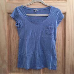 Light blue pocket tee BUNDLE & SAVE Tops Tees - Short Sleeve
