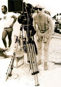 David Bowie on The Man Who Fell To Earth, 1976.
