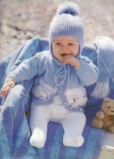 Baby Boy Knitting Patterns Free, Baby Sweater Patterns, Baby Cardigan Knitting Pattern, Baby Knitting Patterns, Baby Patterns, Free Knitting, Baby Boy Sweater, Baby Sweaters, Baby Outfits