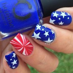 In look for some nail designs and some ideas for your nails? Listed here is our list of must-try coffin acrylic nails for cool women. Cute Nail Designs, Acrylic Nail Designs, Nautical Nail Designs, Tropical Nail Designs, Tropical Nail Art, Bright Nail Designs, Holiday Nails, Christmas Nails, Firework Nails