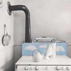 Joanne Leonard, Dream Kitchen Series No. 6, 1979; gelatin silver print, 10 in. x 8 in. (25.4 cm x 20.32 cm); Collection SFMOMA, Gift of Robert Harshorn Shimshak; © Joanne Leonard