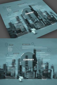 Company Profile Template. Business Infographic. $8.00