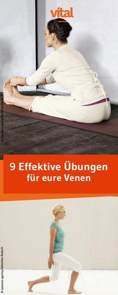Schluss mit Krampfadern - Wir zeigen euch effektive Übungen für eure Venen. 9 einfache Gymnastikübungen für Zuhause!