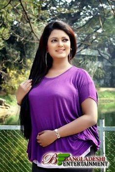 Bangladeshi model and film actress Shampa Hasnine