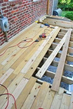 Young House Love | How To Build A Deck: Let's Get This Party Started #deckframing #deckconstruction