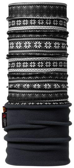 Polar BUFF® offers the protection of Original BUFF® headwear, plus an extra nine inches of super-warm Polartec® Microfleece™.