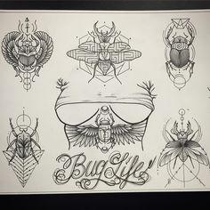 All designs available (except top left is already taken.. @bondiink666 @theshockmansion #buglife#scarabbeattle #eygptian#eygpt#underboobtattoo#tatts #tattoos #bondi #bones #bondiink #bondiinktattoo #bonditattooer