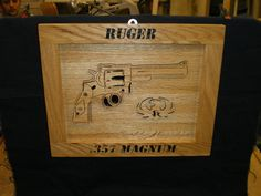 Ruger .357 Mag by Rickswoodworks1 on Etsy