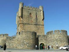 Castelo de Braganca, Portugal