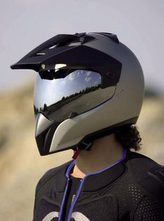 BMW off road motorbike helmet
