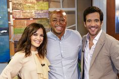 J.R. Martinez was on set to talk about his new  show!