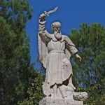 """On the south-eastern peak of Mount Carmel, the site is now known as Muhraka (""""the Scorching"""").  It is marked by a dramatic stone statue of..."""