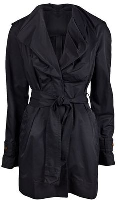 Vivienne Westwood Waterproof Mac Trench  via: www.lyst.com