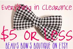 Everything in the clearance section is now $5 or less! I've moved several items to clearance and many are ready to ship! #dog #dogs #dogbow #dogtie #dogbows #doglover #dogbowtie #dogbowties #dogaccessories #petstuff #shop #etsy #etsyshop #petshop #dogstagram #dogsofinstagram #handmade #pet #pets #bowtiefordogs #bowtiesfordogs #catbowties #catbowtie #petbowties #bowtiesforpets #bowtiesforcats #cat #puppy #sale #clearance by beaus.bows