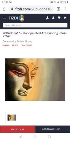 Budha Painting, Pandora, Art, Kunst, Art Education, Artworks