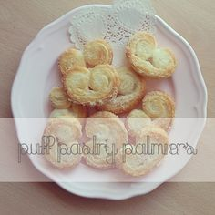 Easy Puff Pastry Palmiers Recipe #recipes #baking