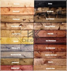 Minimalist Rustic Wood Colors Rustic Wood Colors - This Minimalist Rustic Wood Colors ideas was upload on December, 14 2019 by admin. Here latest Rustic Wood Colors ideas collectio. Art Sur Toile, Stain On Pine, Wood Stain Colors, Stain Wood, Wood Sample, Wooden Pallet Projects, Plank Walls, Weathered Oak, Dark Walnut