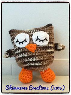 Amigurumi Baby Sleepy Owl Pattern by Shimmeree Creations on Ravelry