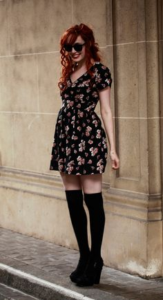 black floral is p much the only floral i like.