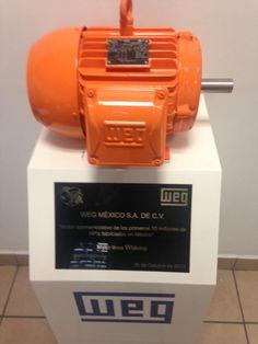 Motor conmemorativo 10 millones de HP fabricados del WEG Mexico