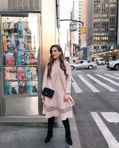 Shop the Look from galmeetsglam on ShopStyleDaily Look Modest Fashion, Fashion Outfits, Girl Fashion, Outfit Vestidos, Smart Casual Women, Look Rose, Classy Winter Outfits, Prep Style, Gal Meets Glam