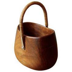 Carl Auböck Walnut Sugar Bowl