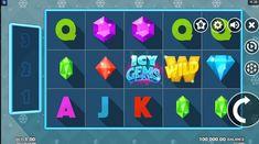 Icy Gems Online Slot from Microgaming Gem Online, Game Gem, Slot Machine, Gems, Join, Videos, Vending Machines, Rhinestones, Jewels